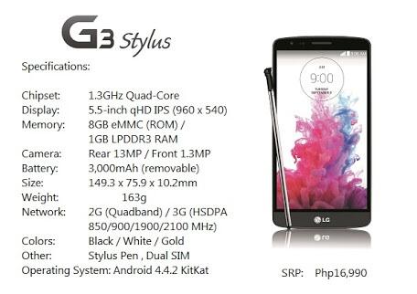 Bodega Aurrerá: LG g3 stylus + radio reloj bluetooth $3,999