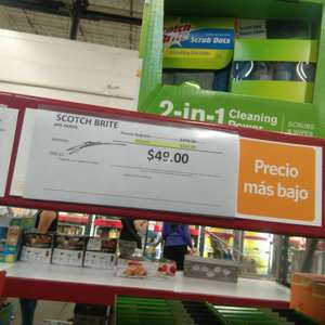 Sam's Club: 6 Paños Scotch Brite