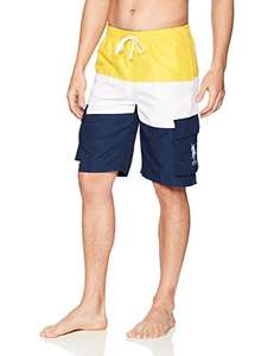 Amazon: U.S. Polo Assn. Bañador para Hombre de 28 cm Talla M