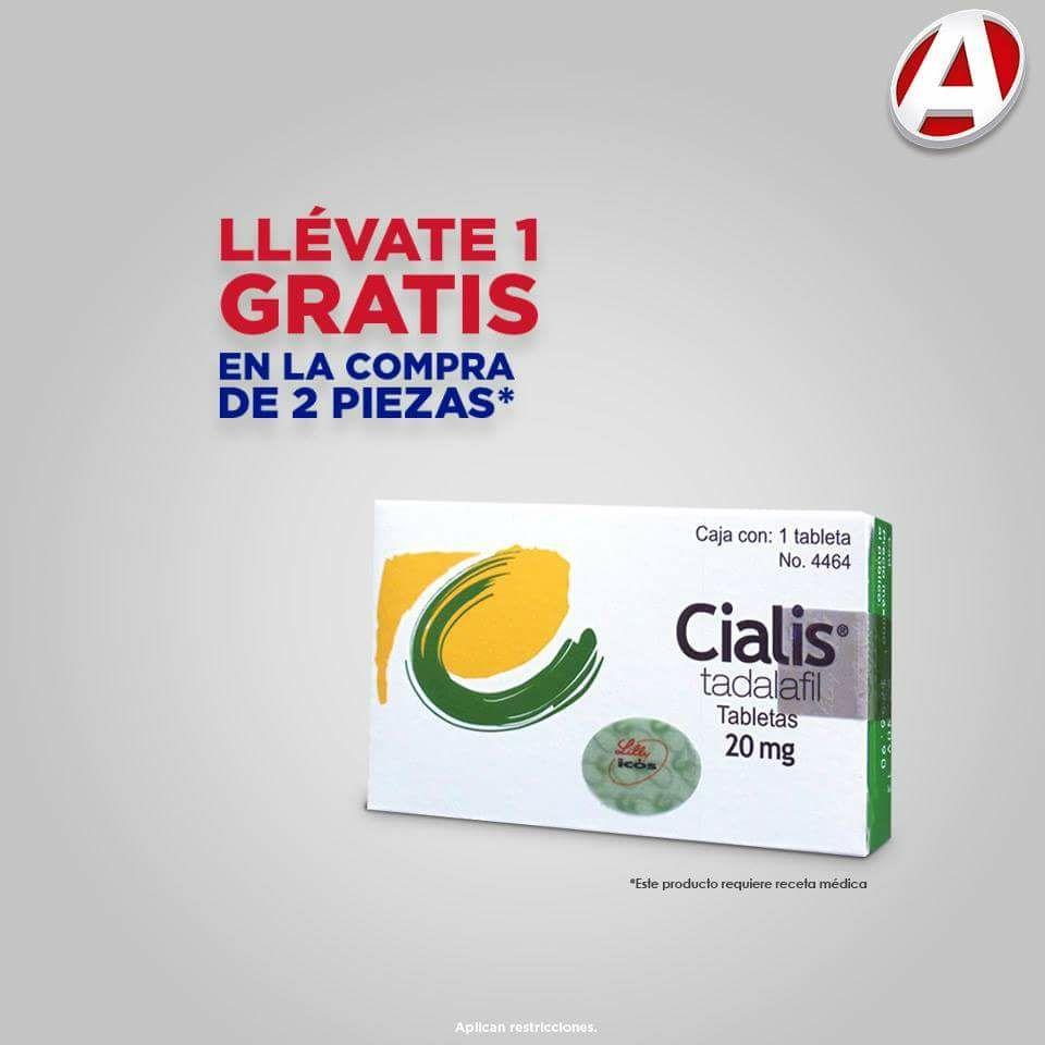 Farmacias del Ahorro: Cialis 3x2