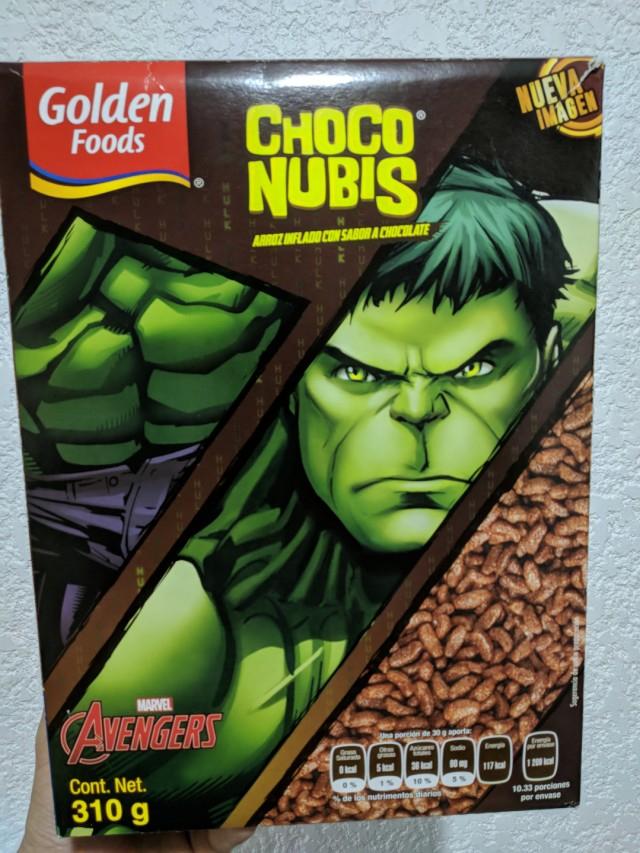 Walmart: cereal Choco nubis $12.02