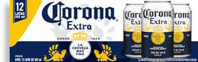 Rappi: Chedraui Cerveza Corona Extra Lata 355 mL x 12