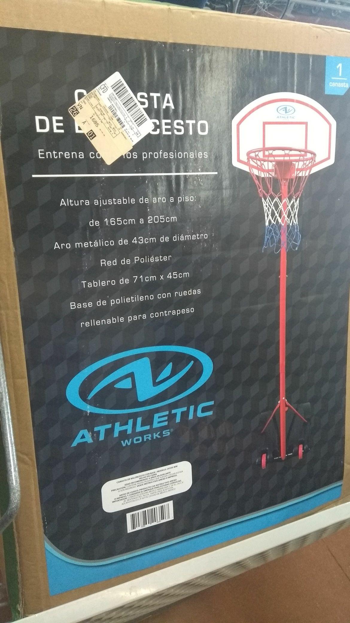 Walmart cd del Carmen: Canasta basket ball a $349.02