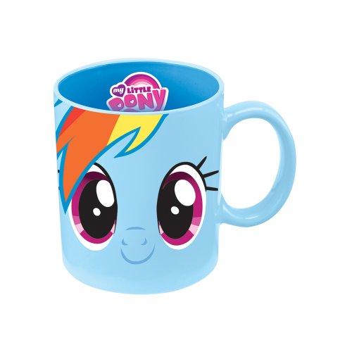 Amazon: Taza de Cerámica de Viaje Mi Pequeño Pony de Rainbow Dash - 354 ml - Color Azul (PRIME)