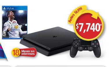 Walmart: PS 4 1TB más  FIFA 18