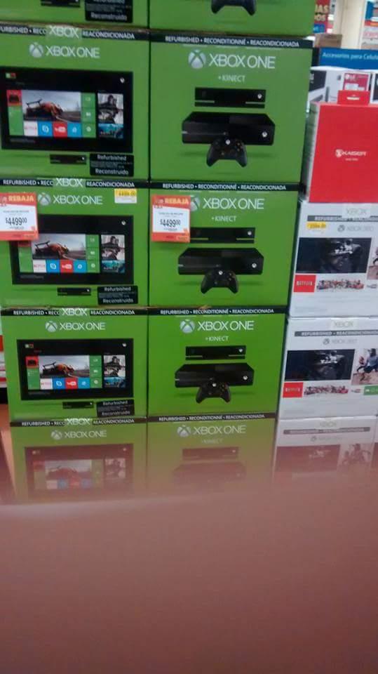 Walmart: Xbox One con Kinect RECONSTRUIDA a $4,499