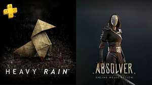 PSN: Heavy Rain y Absolver Juegos PS Plus Julio