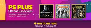 PSN: Ofertas Ps Plus semanales