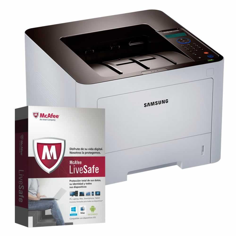 Walmart: Impresora Laser Samsung para Oficina + Antivirus