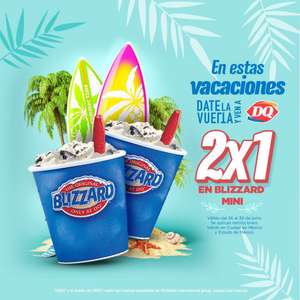 Dairy Queen: Blizzard mini al 2 x 1