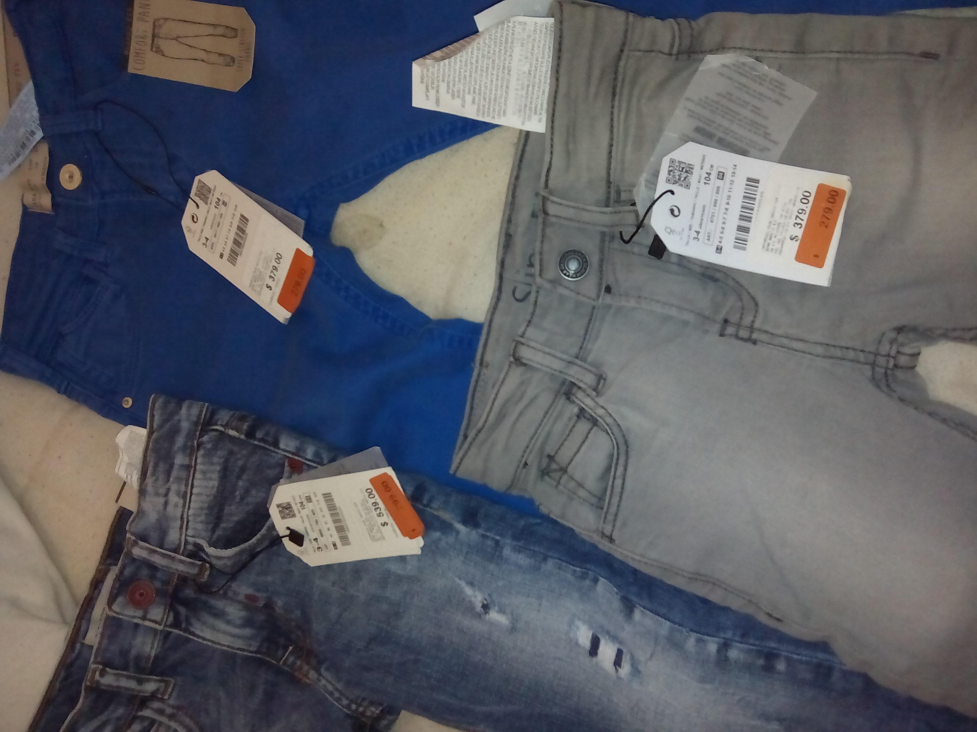 Ofertas en ZARA para niños: jeans desde $279 y playeras desde $99