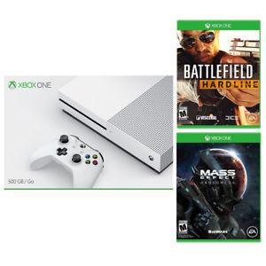 eBay: Consola Xbox One S 500GB + Battlefield Hardline + Mass Effect Andromeda