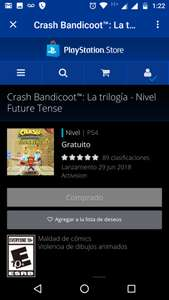 PSN: Niveles Future Tense y Stormy Ascent gratuitos para Crash Bandicoot Nsane Trilogy