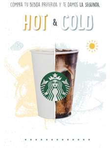 Starbucks: 2x1 con My Starbucks Rewards