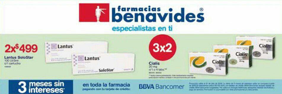 Farmacias Benavides: Ofertas del Lunes 2 al Jueves 5 de Julio