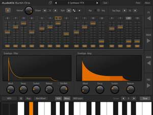 AppStore: AudioKit Synth One Synthesizer GRATIS