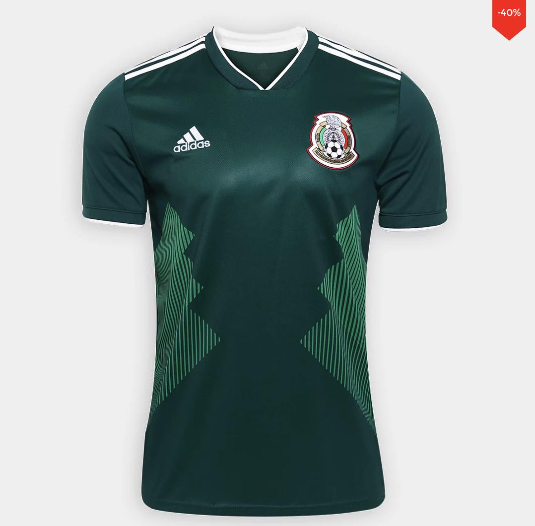 Innovasport: Jersey Mexico 40% descuento y de otras selecciones eliminadas