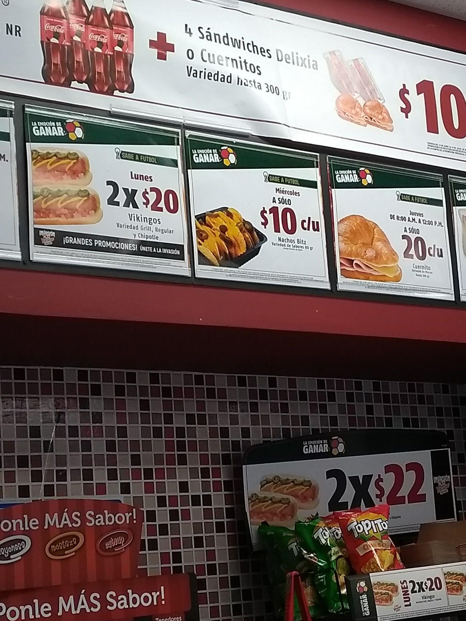 Oxxo: Nachos Bitz a solo$10