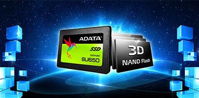 """PCEL: Unidad de estado sólido ADATA Ultimate SU650 de 120 GB, 2.5"""" SATA III (6GB/s)."""