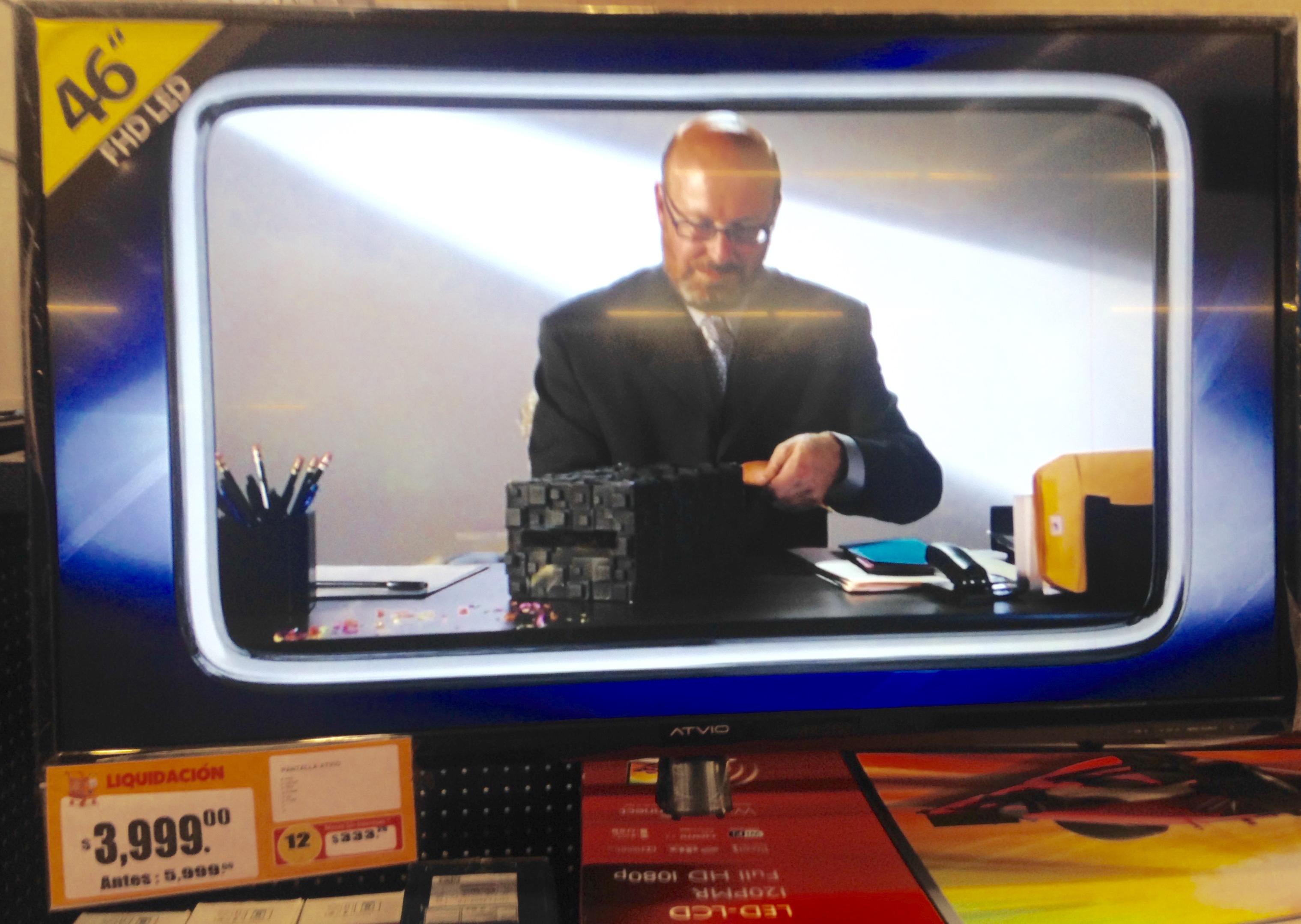 Walmart: Televisión FHD Led Marca Atvio 46 pulgadas