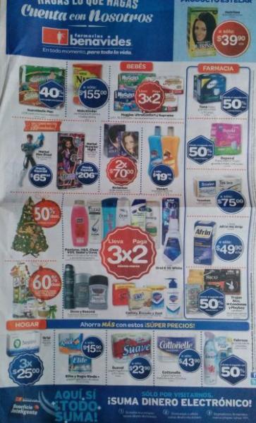 Farmacias Benavides: 3x2 en pañales Huggies, shampoos Pantene, muñeca Monster High $206 y +