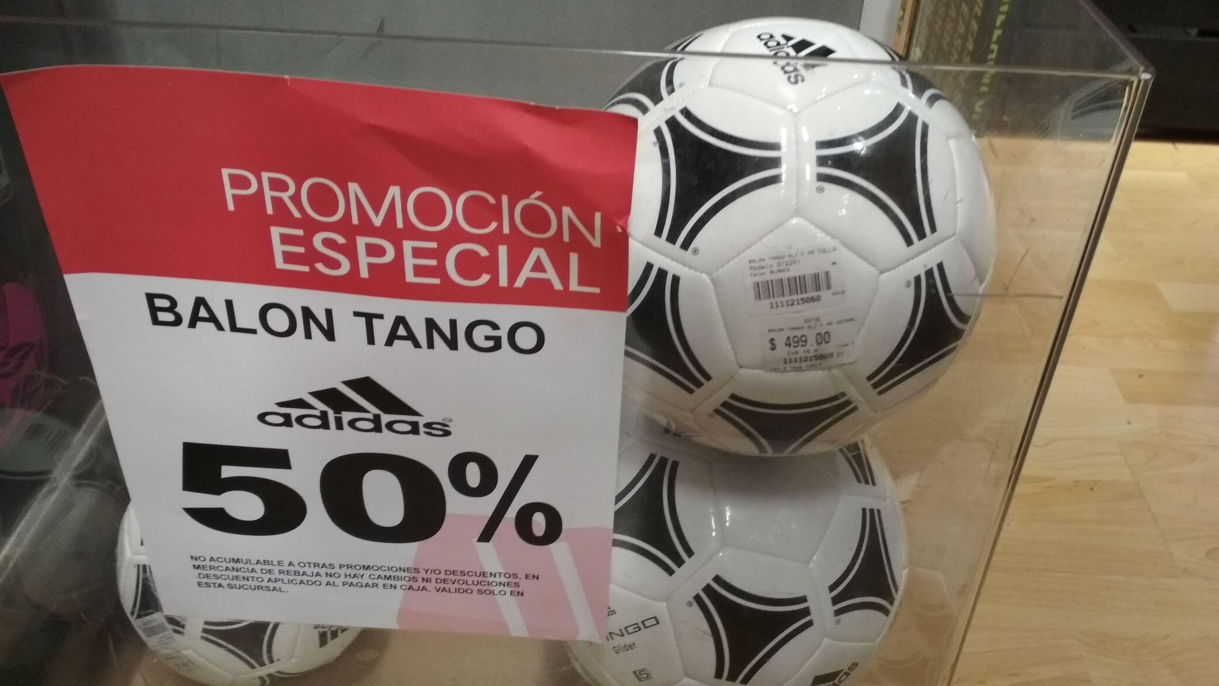 Martí CDMX: Balón Adidas Tango