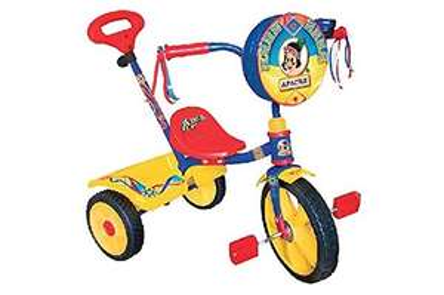Soriana: triciclo Apache varios modelos $600