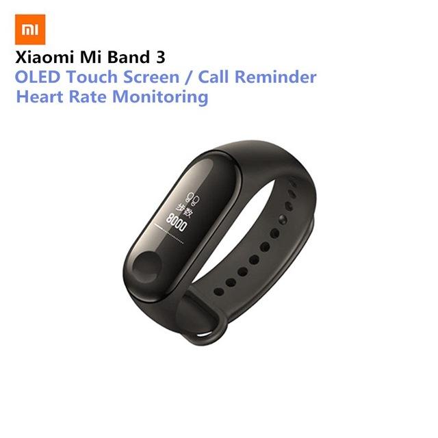 Aliexpress: Xiaomi Mi Band 3 (Con envió rápido 5-10 dias DHL)