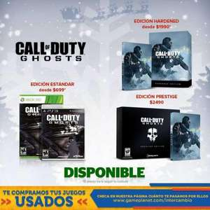 Game Planet: Call of Duty Ghosts $699, Madden NFL 25 $499, 3DS $2,499