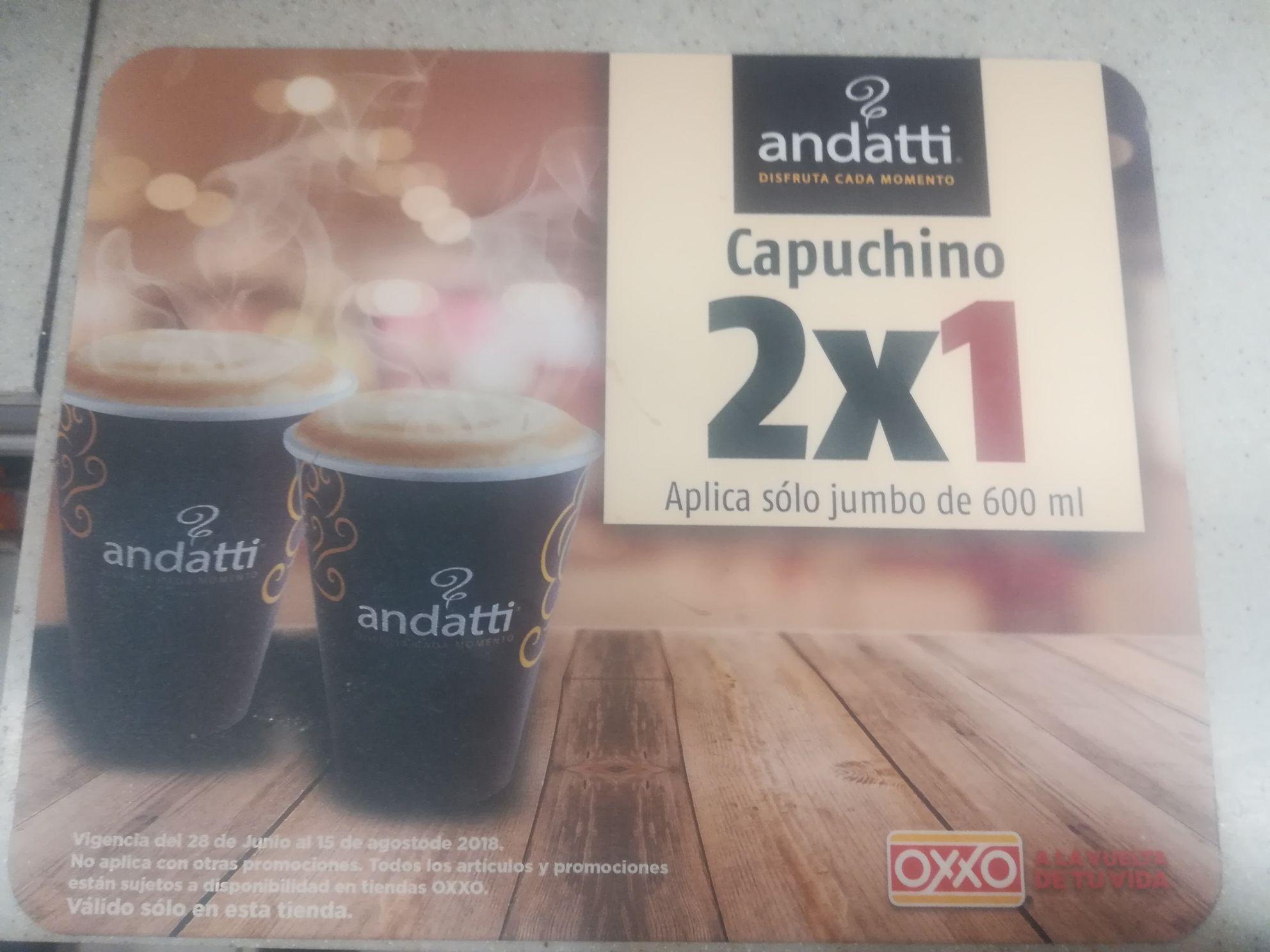 Oxxo: Andatti Jumbo 2x1
