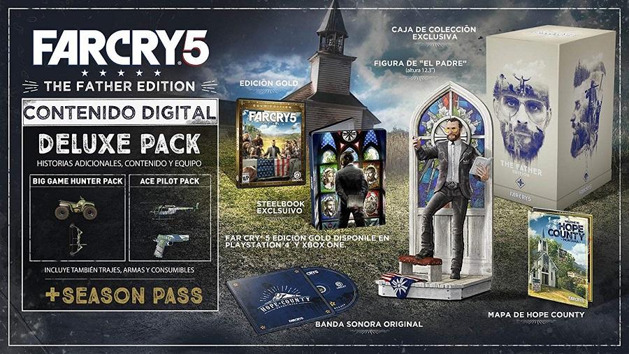 Walmart: Far Cry 5 Collectors Edition para PS4