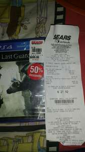 Sears: The Last Guardian PS4