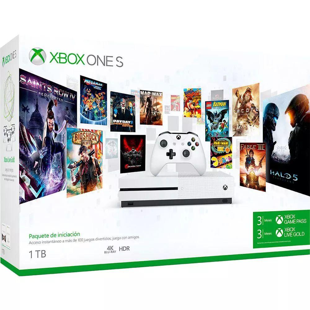 Elektra: Consola Xbox One S 1 TB Game Pass
