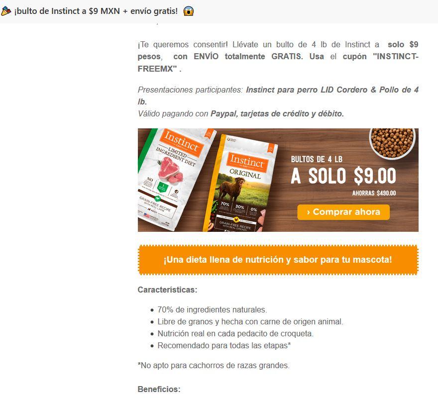 Pet n Go: 4 libras de alimento premium natural + envío gratis