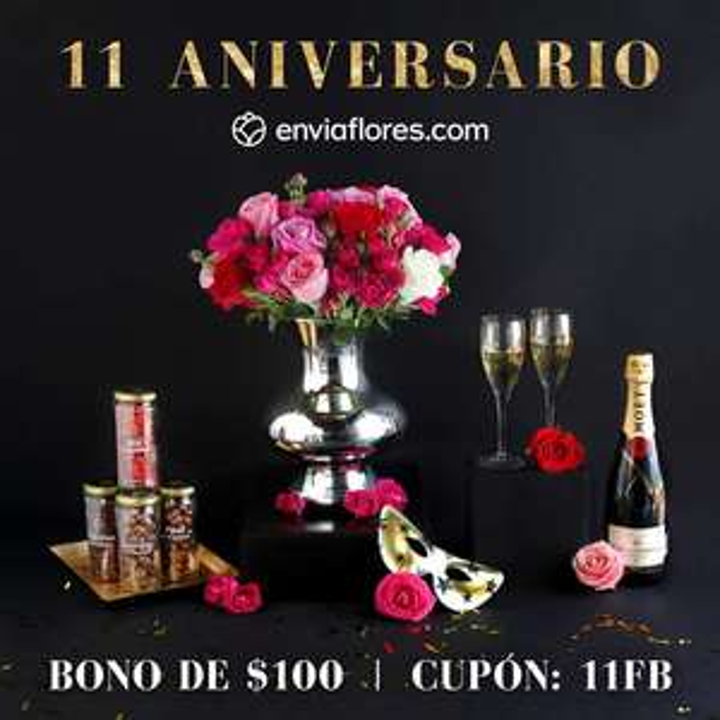 Envia Flores: $100  de descuento en