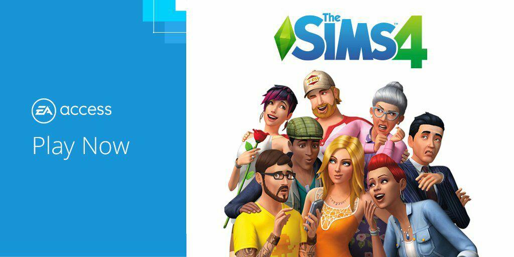 EA access: Los SIMS 4 XBOX ONE / PC  (juego completo)