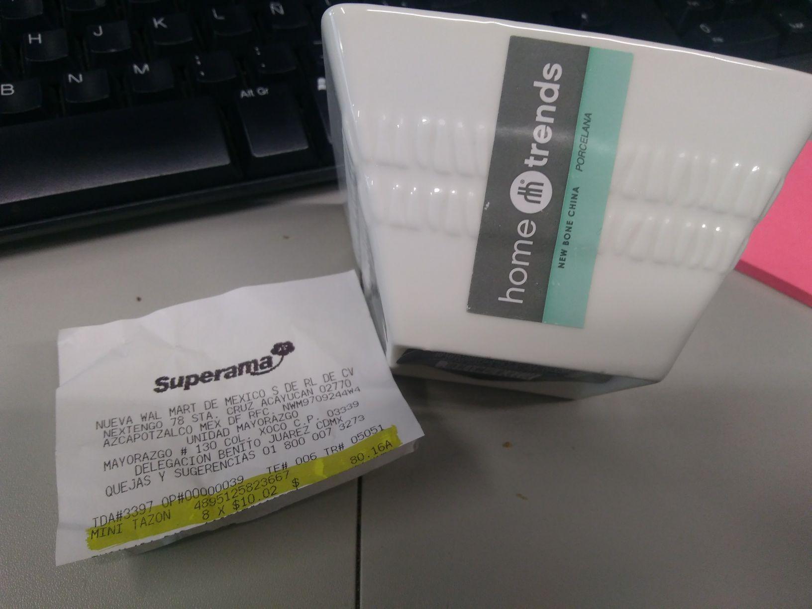 Superama: Mini tazón
