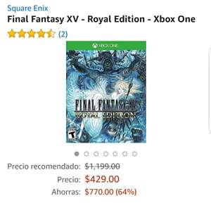 Amazon: Final Fantasy XV Royal Edition xbox one