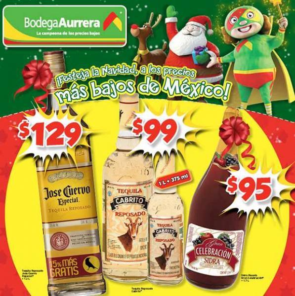 Folleto de ofertas en Bodega Aurrerá a partir de diciembre 17