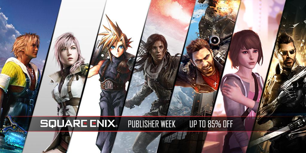 Humble Bundle: publisher sale... Juegos de SquarEnix con hasta 75% descuento