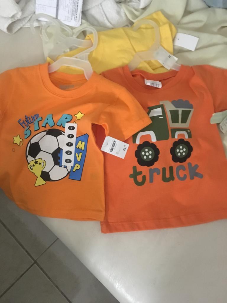 Soriana: Playeras bebés a $3.43 y $8.90