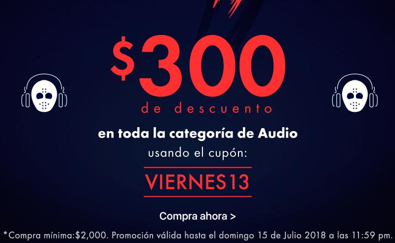 Doto: Cupón de $300 de descuento en Audio (pedido mínimo de $2,000)
