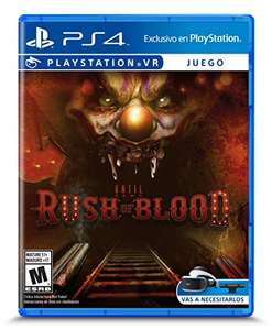 Amazon México: Until Dawn Rush of Blood PS4 a $279
