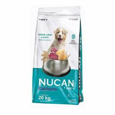 Comercial Mexicana: Bulto de Croquetas Nucan by Nupec de 20 kgs. (COMPRANDO 3)