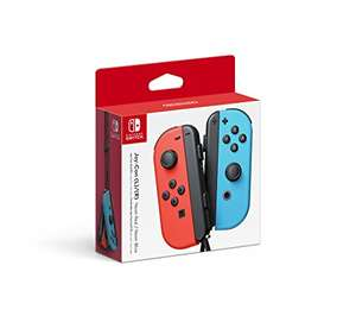 Amazon: joy-con rojo/azul para nintendo switch