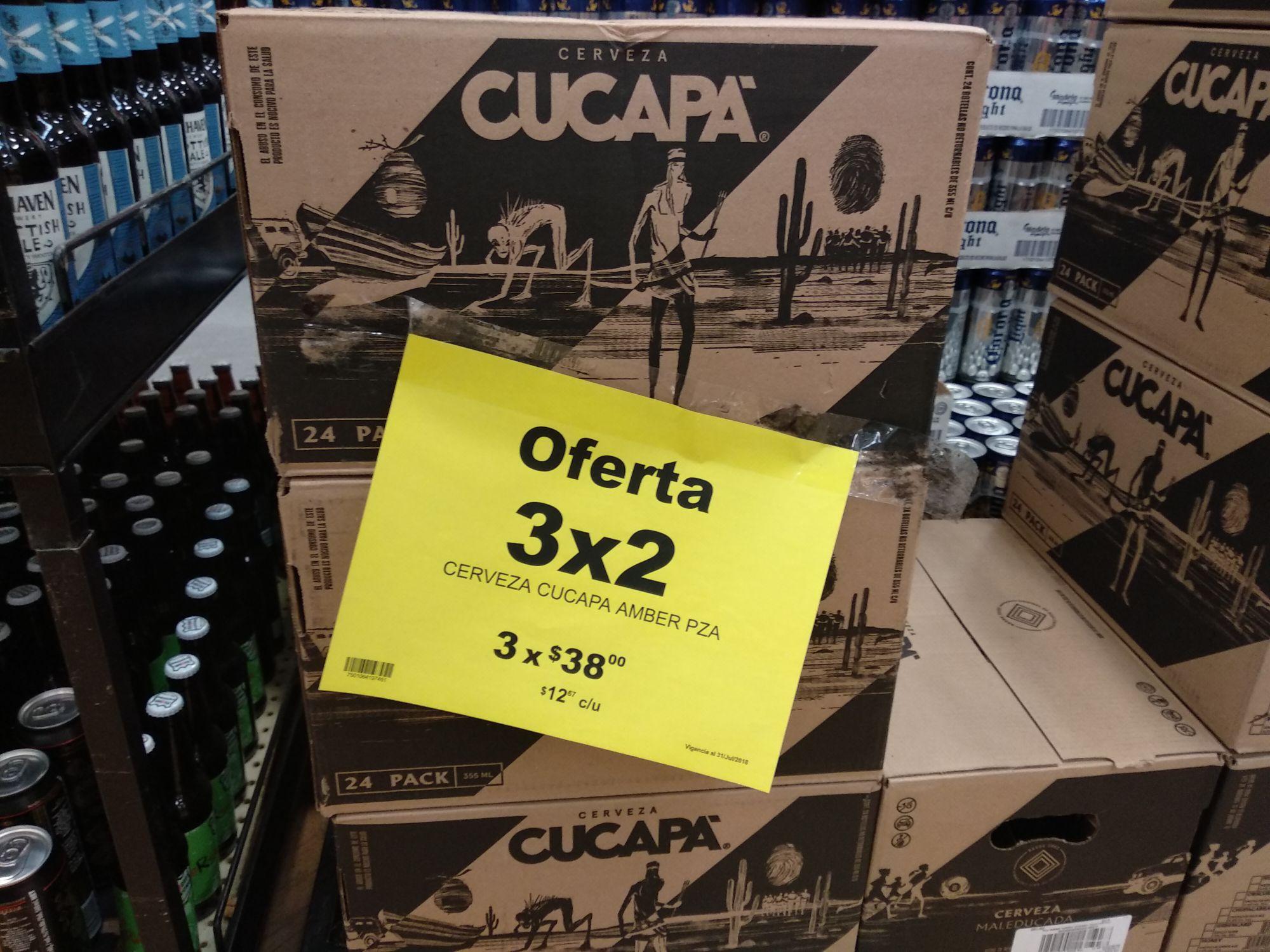 Soriana: Cervezas artesanales al 3x2