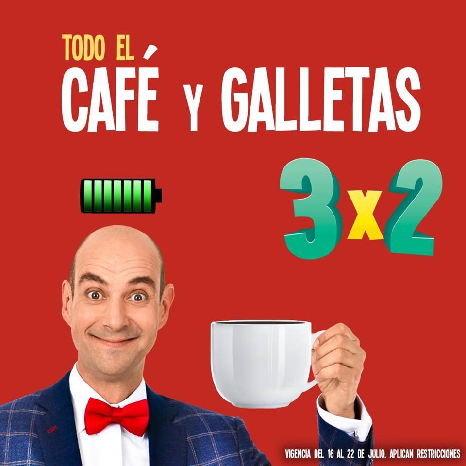 Julio Regalado 2018 en Soriana: 3 x 2 en café y galletas