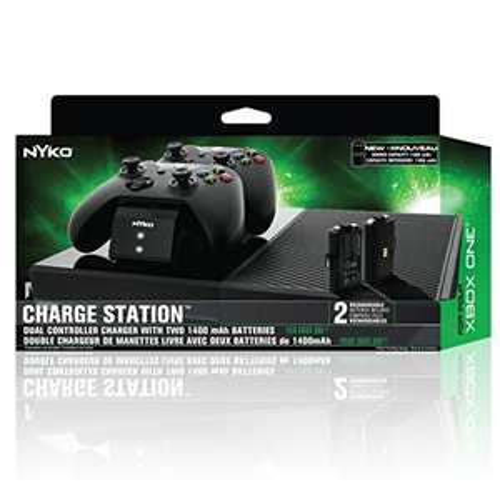 Amazon: Estación de carga Xbox one con 2 Baterías