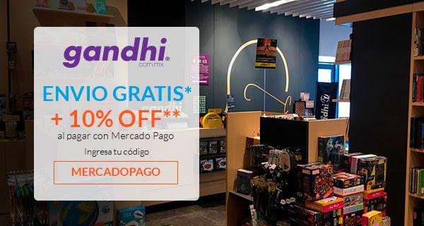 Librerías Gandhi: 10% de descuento con Mercado Pago y envío gratis