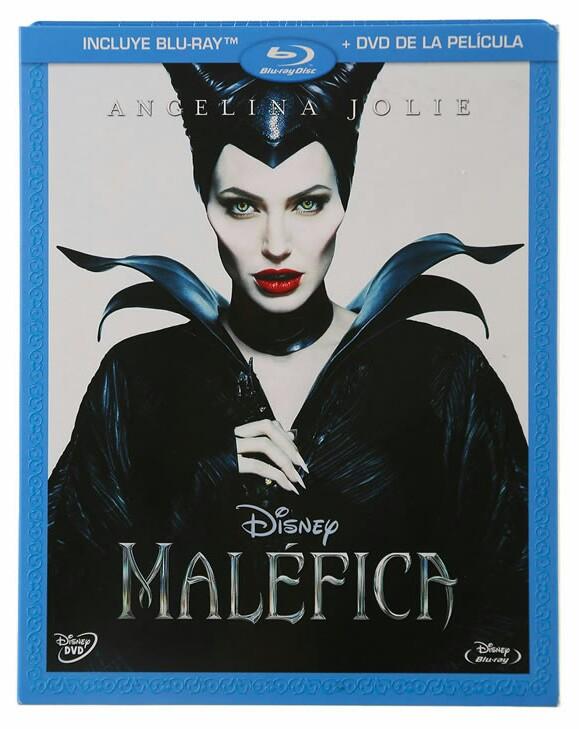 Blockbuster: Pelicula Maléfica BD + DVD en $59.37